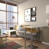 örnek daire projelendirme iç mimari tasarım 3d render görselleştirme